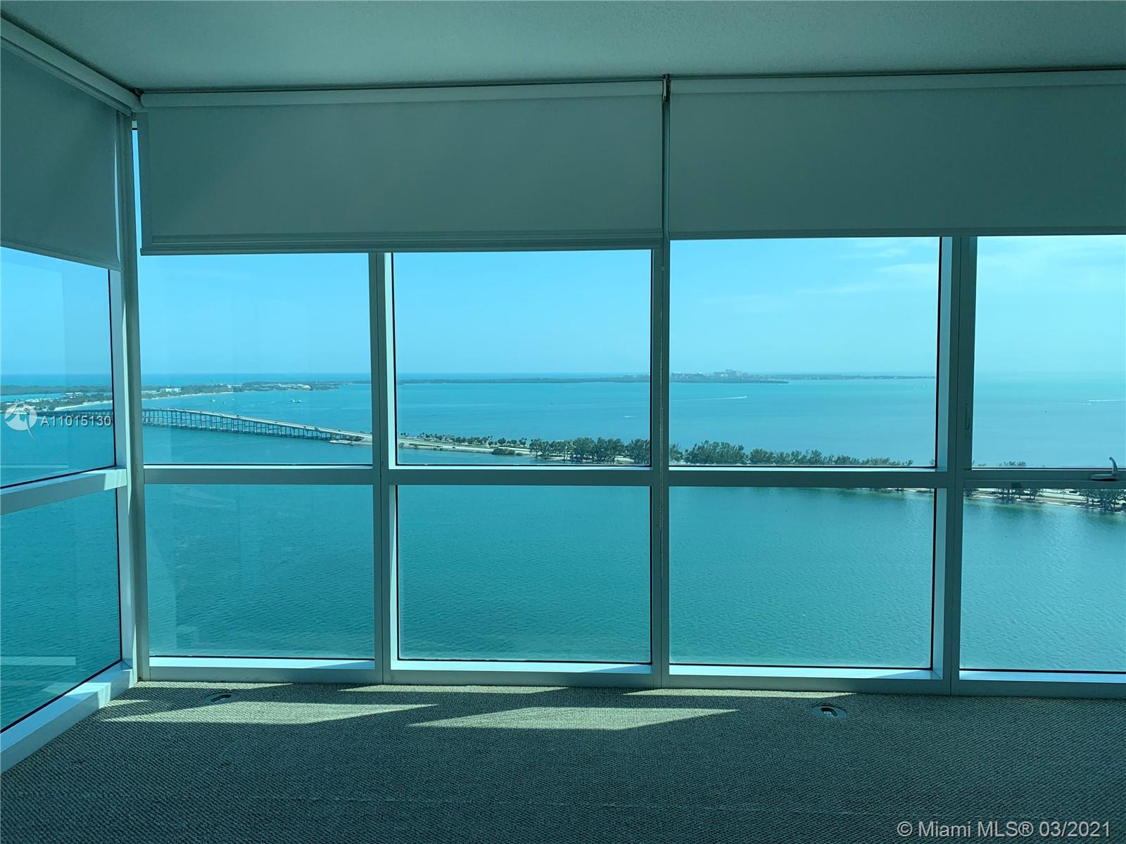 JUST LISTED!! BEAUTIFUL AND SPACIOUS 3 BED 3 BATH WITH SPECTACULAR DIRECT OCEAN AND BAY VIEWS. MARBL