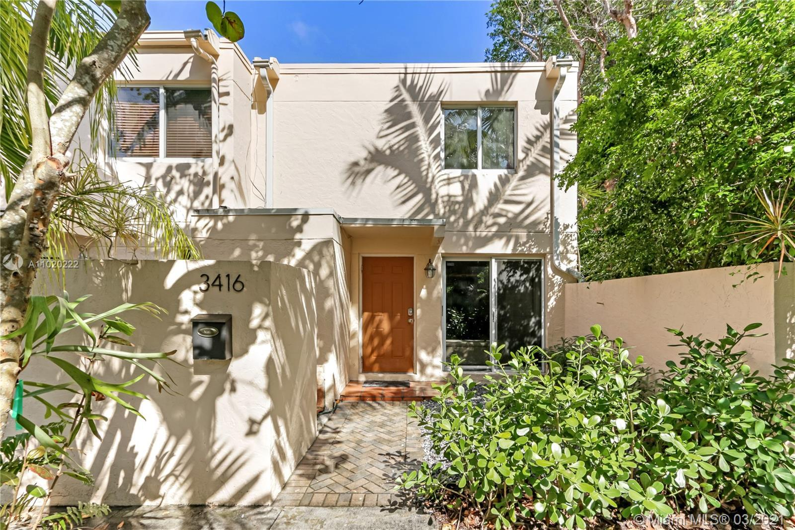Beautiful Corner 2/1.5 Townhome in Gated Stirrup in the Grove, 2018 Roof, Impact windows, fenced bac