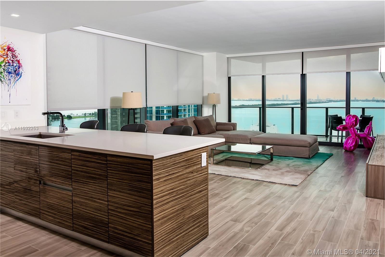 Just Listed ! Iconbay Designed by World Renowned Arquitectonica. Beautiful North East Corner unit  2