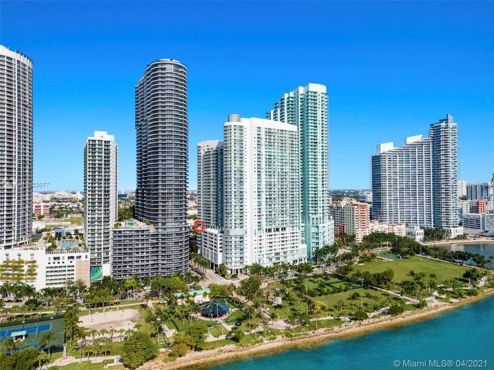 Live in Edgewater with beautiful views in this spectacular one of a kind 3 bedroom 3.5 bath unit wit
