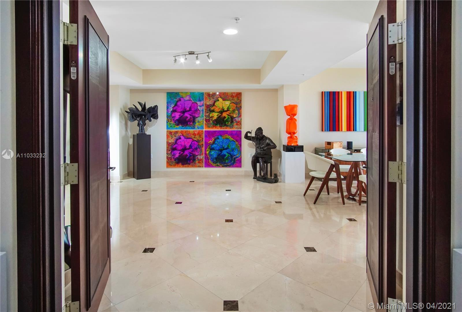 DEVELOPER'S GEM IN SUNNY ISLES PARADISE. BOUTIQUE BUILDING WITH ASTONISHING HIGH CEILINGS LOBBY AND