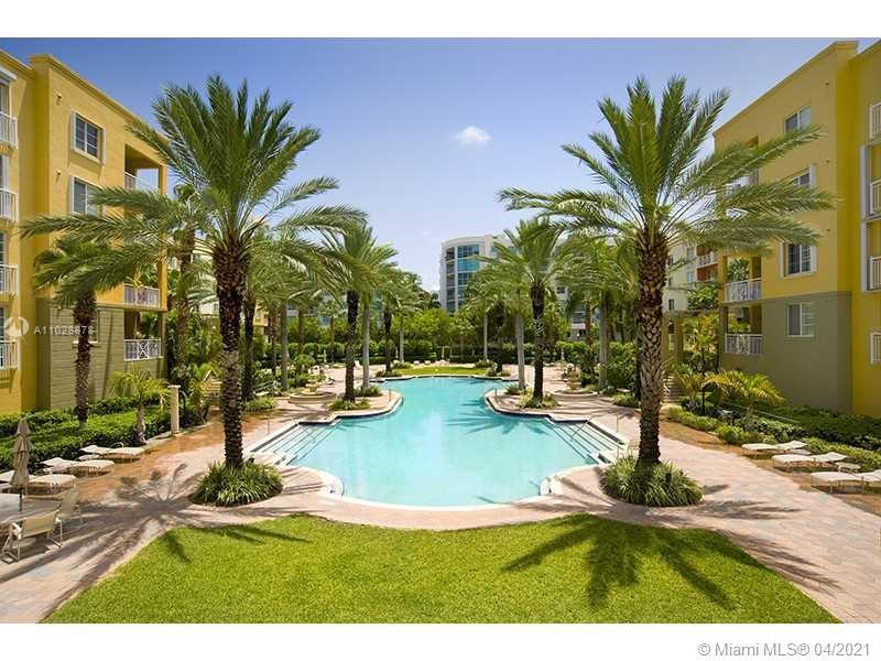 Immaculate 3 bedroom, 3 bath, pool facing unit on the Lanai level at The Courts of South Beach in th