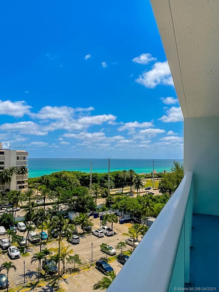 Spacious 1 bedroom condo overlooking incredible ocean views. Steps away from Haulover Park and beach