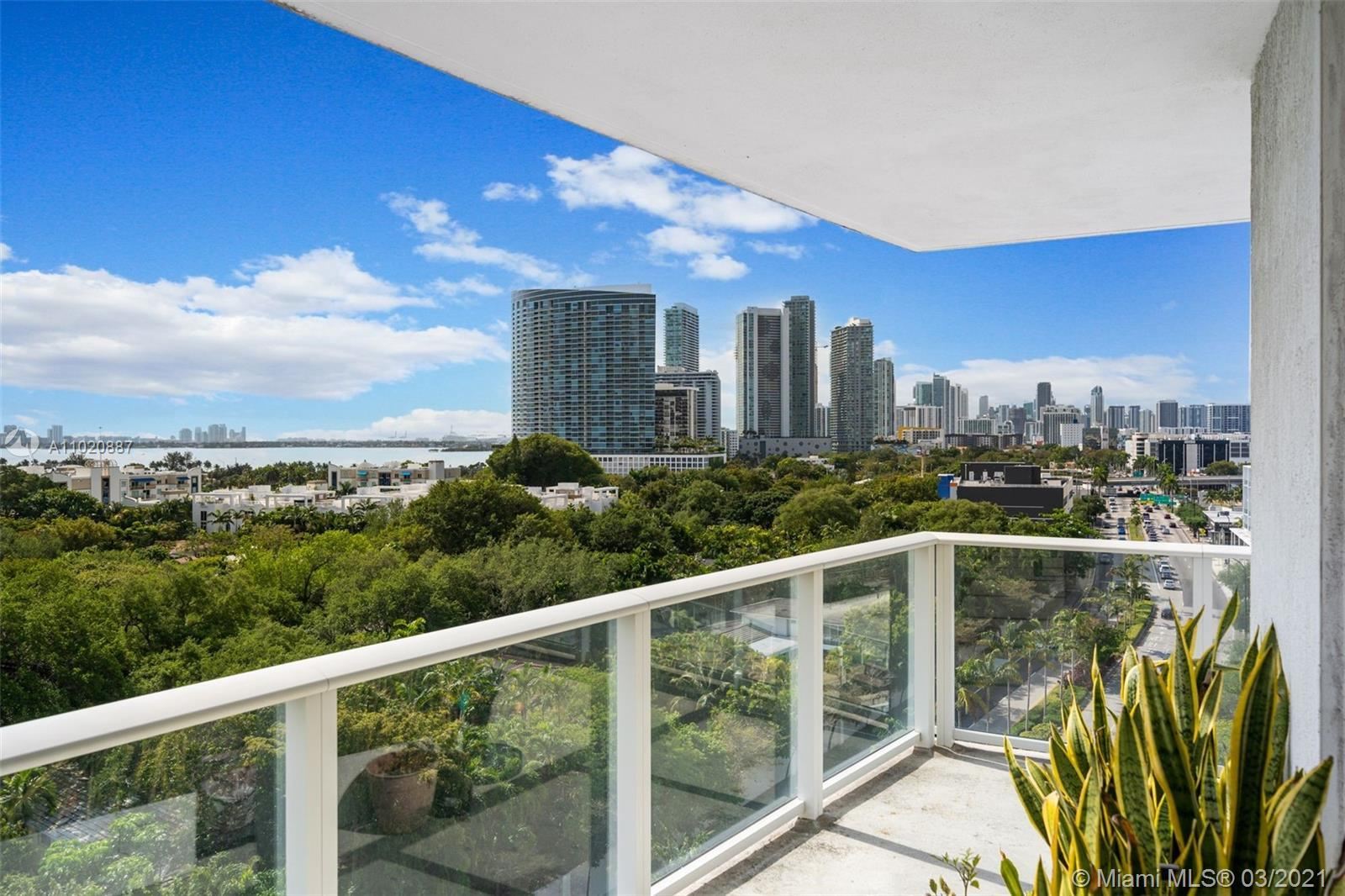 Stunning Corner Unit w Bay Views at Baltus House. 2015 Construction, Brand New, Iconic Miami Luxury.