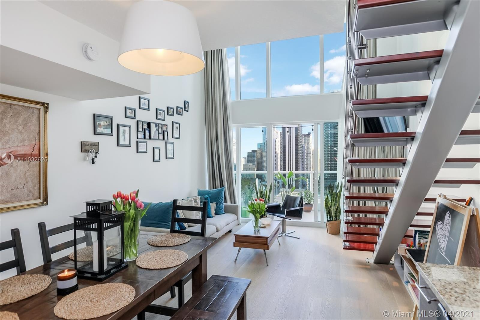 Tenant occupied until July 16th.  Best Location in Brickell, this unit has custom made curtains, the