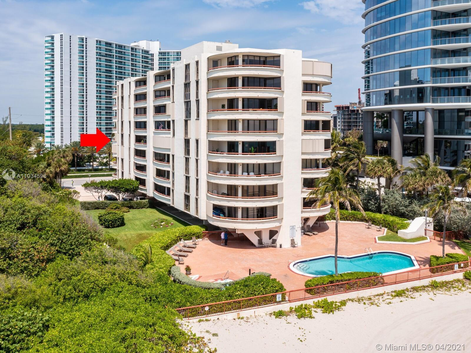 Oceanfront Boutique condo only 48 units Total , unit for sale 2/2 with city views and ocean views in