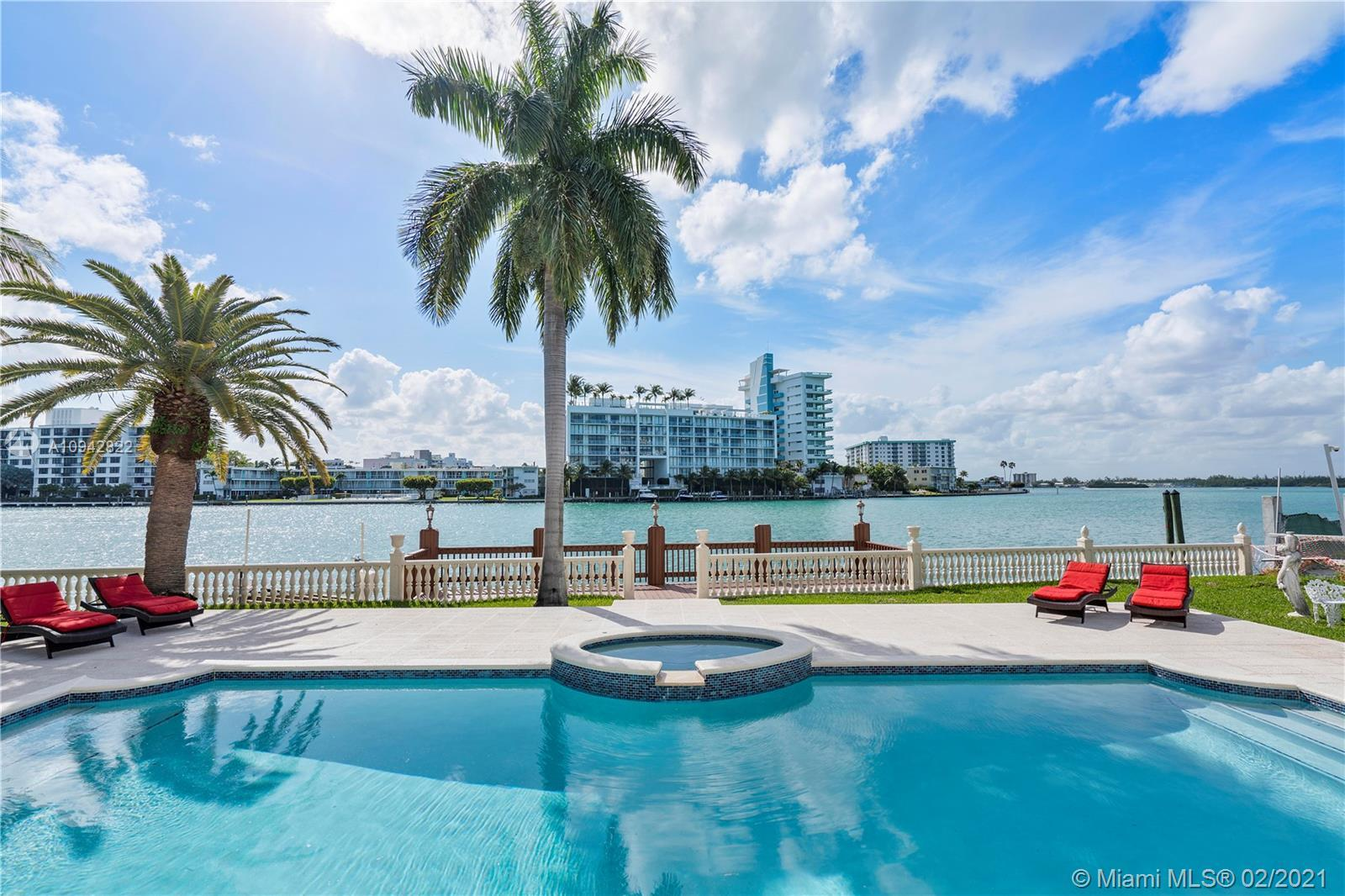 BAL HARBOUR WATERFRONT LUXURIOUS HOME IN GATED COMMUNITY. 7,277 SQFT HOME ON 20,900 SQ FT LOT!!!
