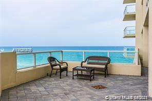 FOR INVESTORS .OCEAN FRONT BLDG BREATH TAKING OCEAN VIEWS FROM THIS FULLY FURNISHED 2 BDRM 2.5 + DEN