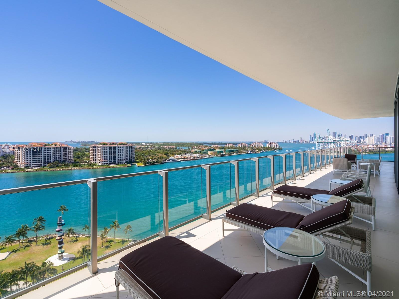 Very Unique and luxurious corner Unit at the Prestigious Apogee South Beach Residence. Completely re
