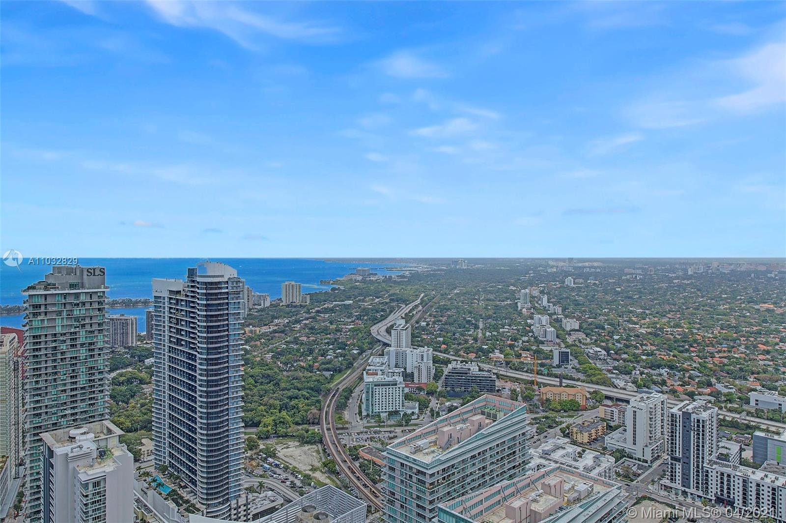 Experience life at the top at this exclusive upper penthouse at Brickell Flatiron featuring soaring