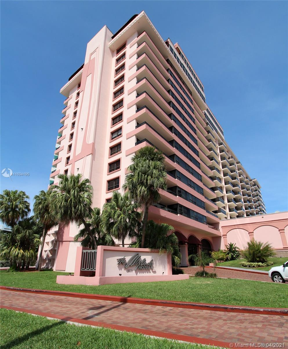 Bright and spacious remodeled 2 bedroom, 2 bath condo at The Alexander. Enjoy beautiful Miami Beach