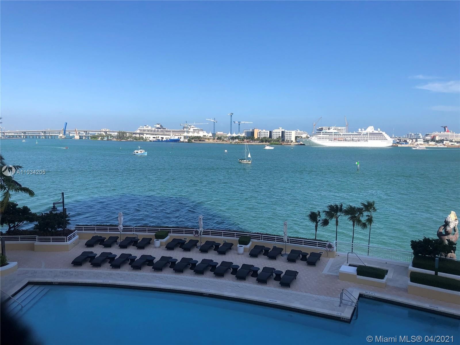 Enjoy Lux living in Three Tequesta Point featuring 2 Bedrooms/ 2.5 Bathrooms with split floor plan,