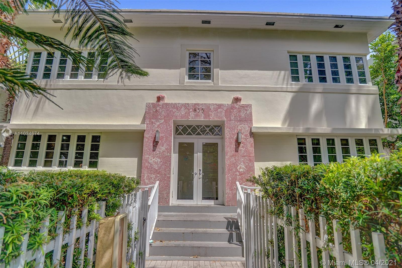 GREAT POTENTIAL FOR CONVERSION INTO 7 INDIVIDUAL TOWNHOUSES FOR BIG $$$ Historic Art Deco Building