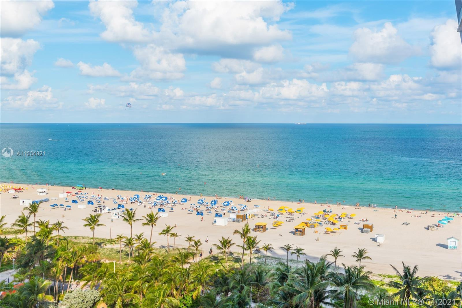 A birds eye view from every room of the ocean and SoBe sets the tone for what awaits you inside! Loc