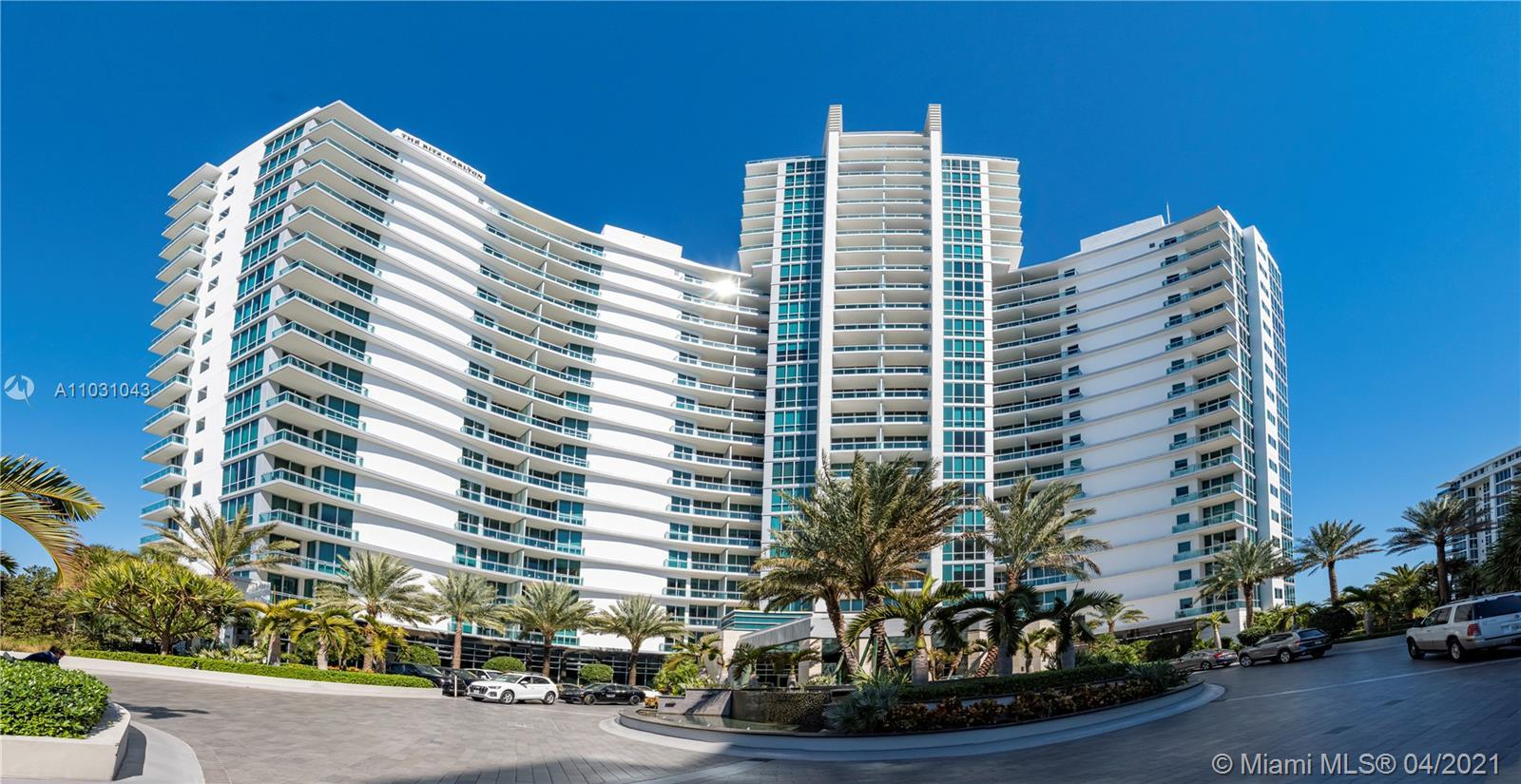 Breathtaking 1 Bedroom, 1 bath Condo-Hotel Luxury Residence. Ocean and canal panoramic views. Fully