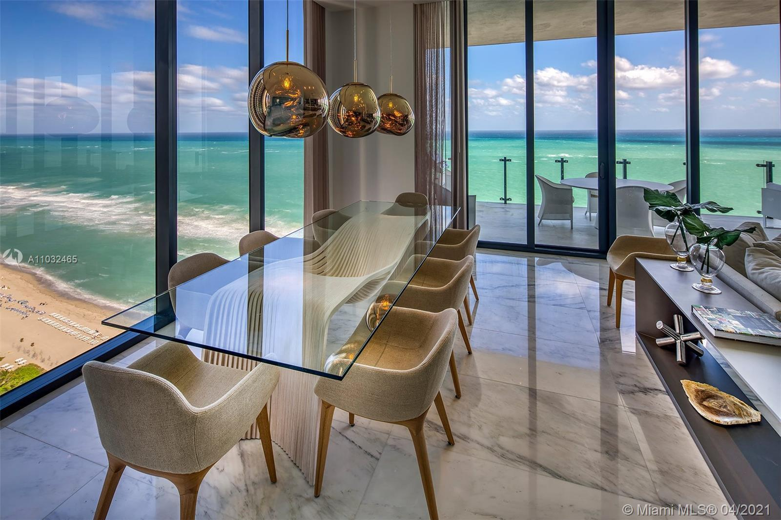 Stunning Ocean Views! Modern Smart Luxury Residence, this converted 4Bed/3 1/2 Baths feature high-te