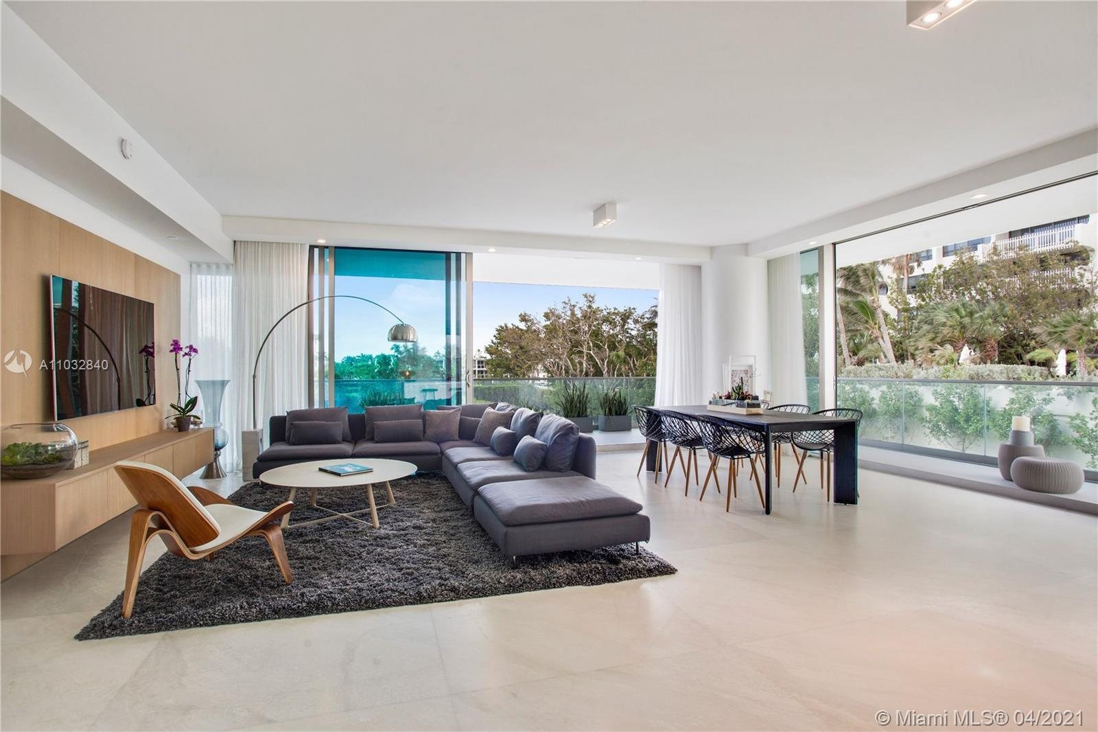 Stunning Turn Key 2 bedroom, 2 bathrooms fully furnished residence at the prestigious Oceana Bal Har