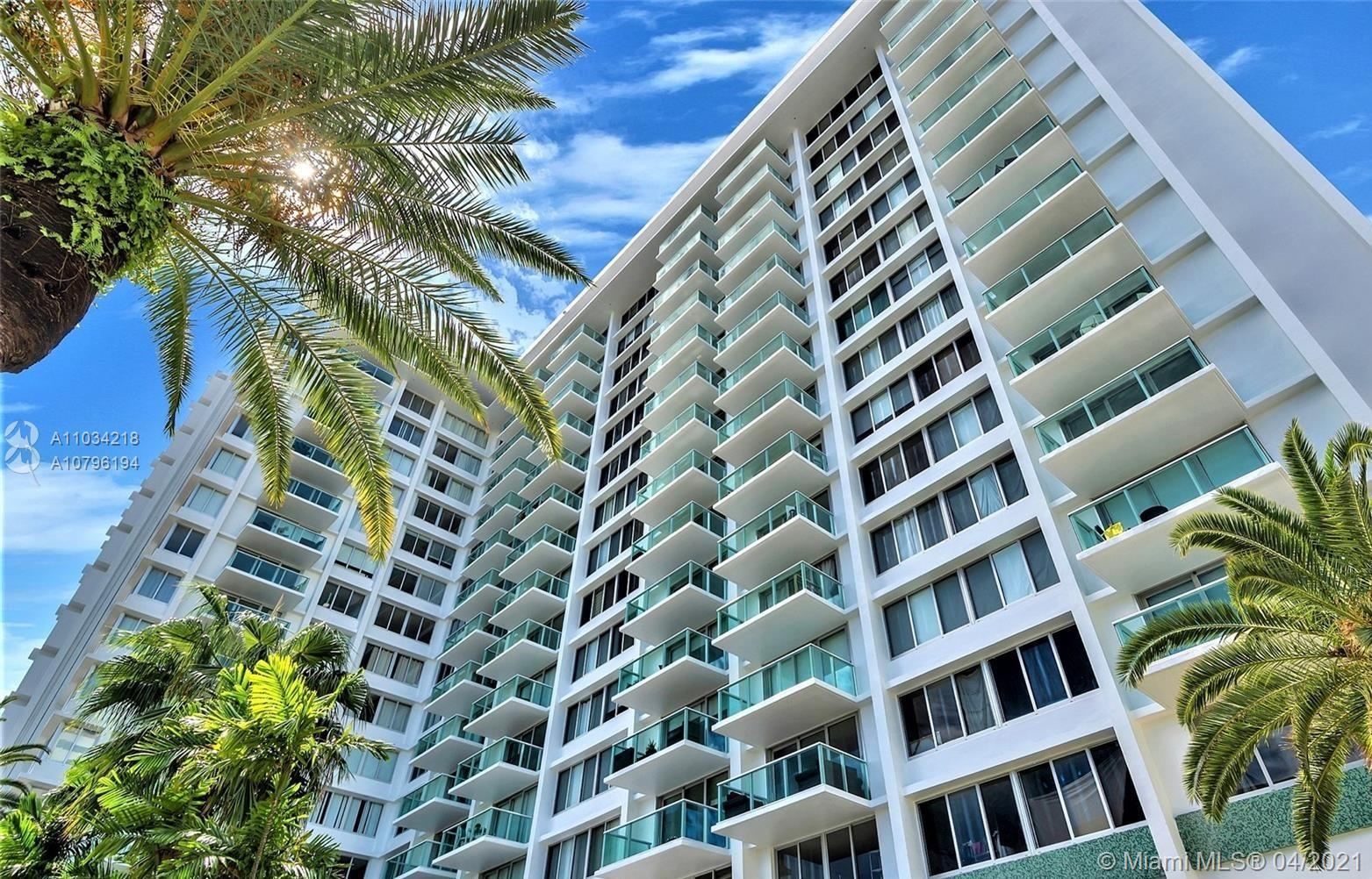 Live Work & Play on Miami Beach.  Updated 1 Bedroom and 1 Bathroom Direct Bay-view Unit in a Full Am