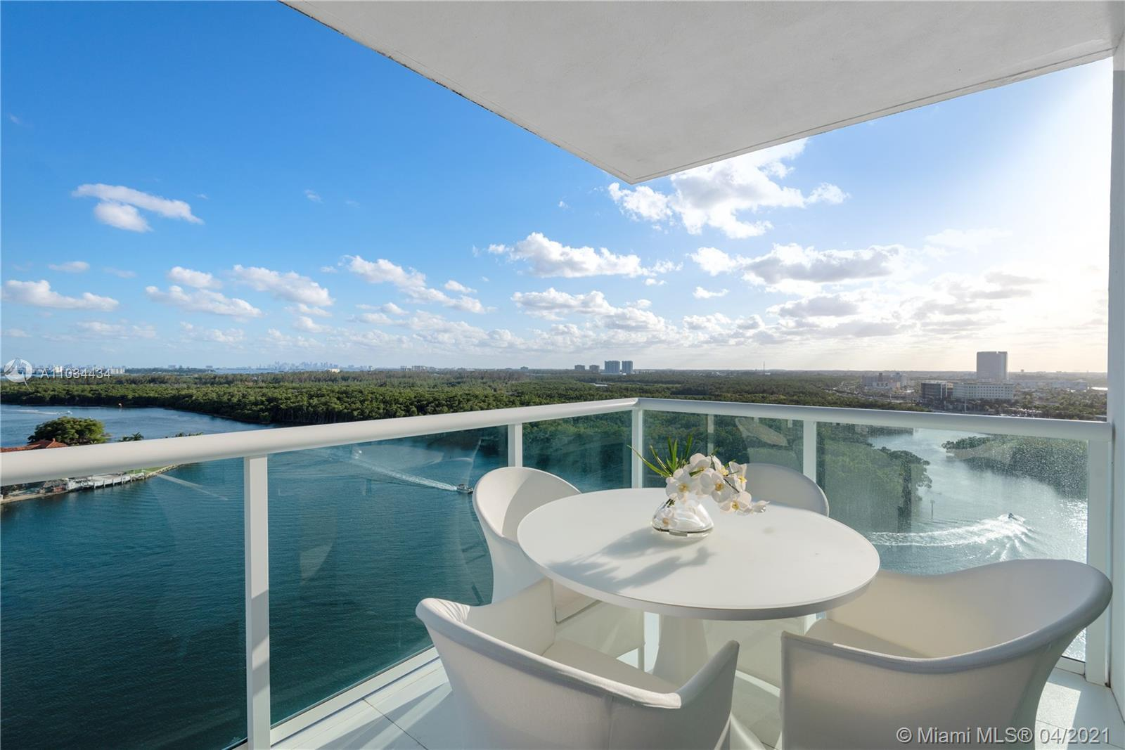 Gorgeous corner unit with Ocean and Intracoastal views featuring floor to ceiling glass windows, imp