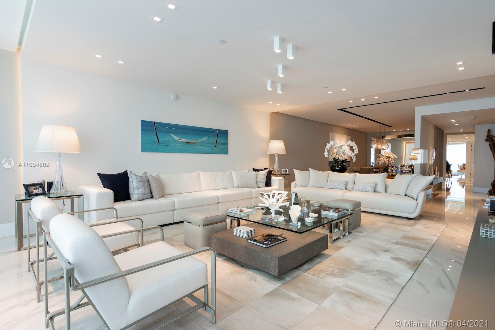 Gorgeous unit at the most prestigious building at Bal Harbour. Unit comes fully furnished, with all
