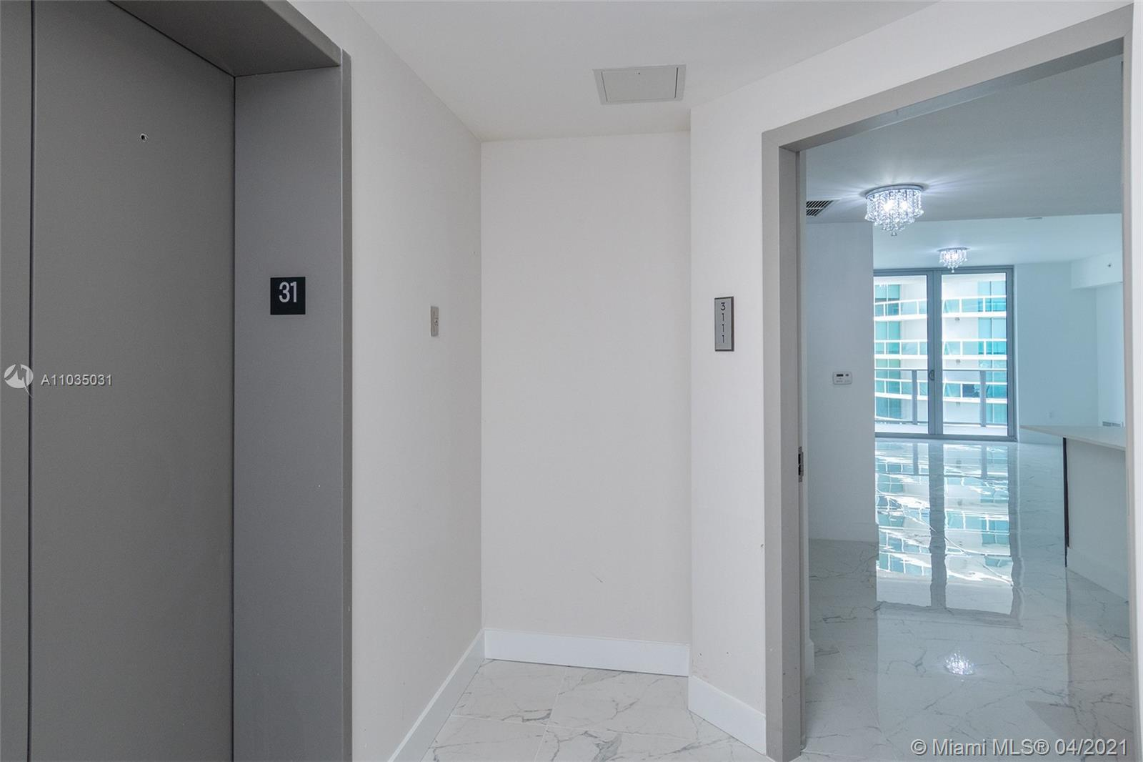 One of the most beautiful and luxury units direct east bay & ocean views.  31th floor unit located a
