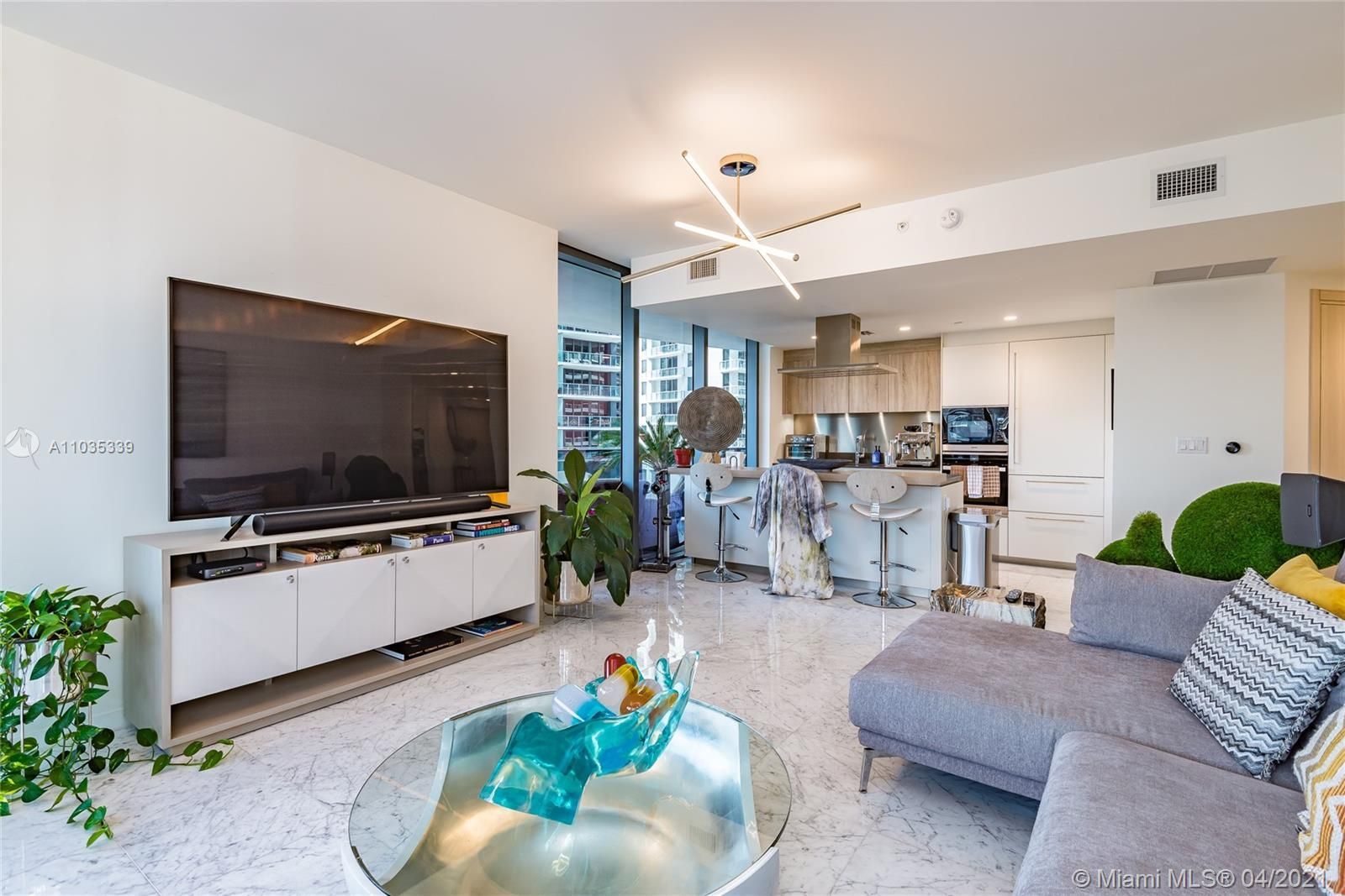 Live, work and play in this stunning, one of a kind, sophisticated urban oasis in the iconic Brickel