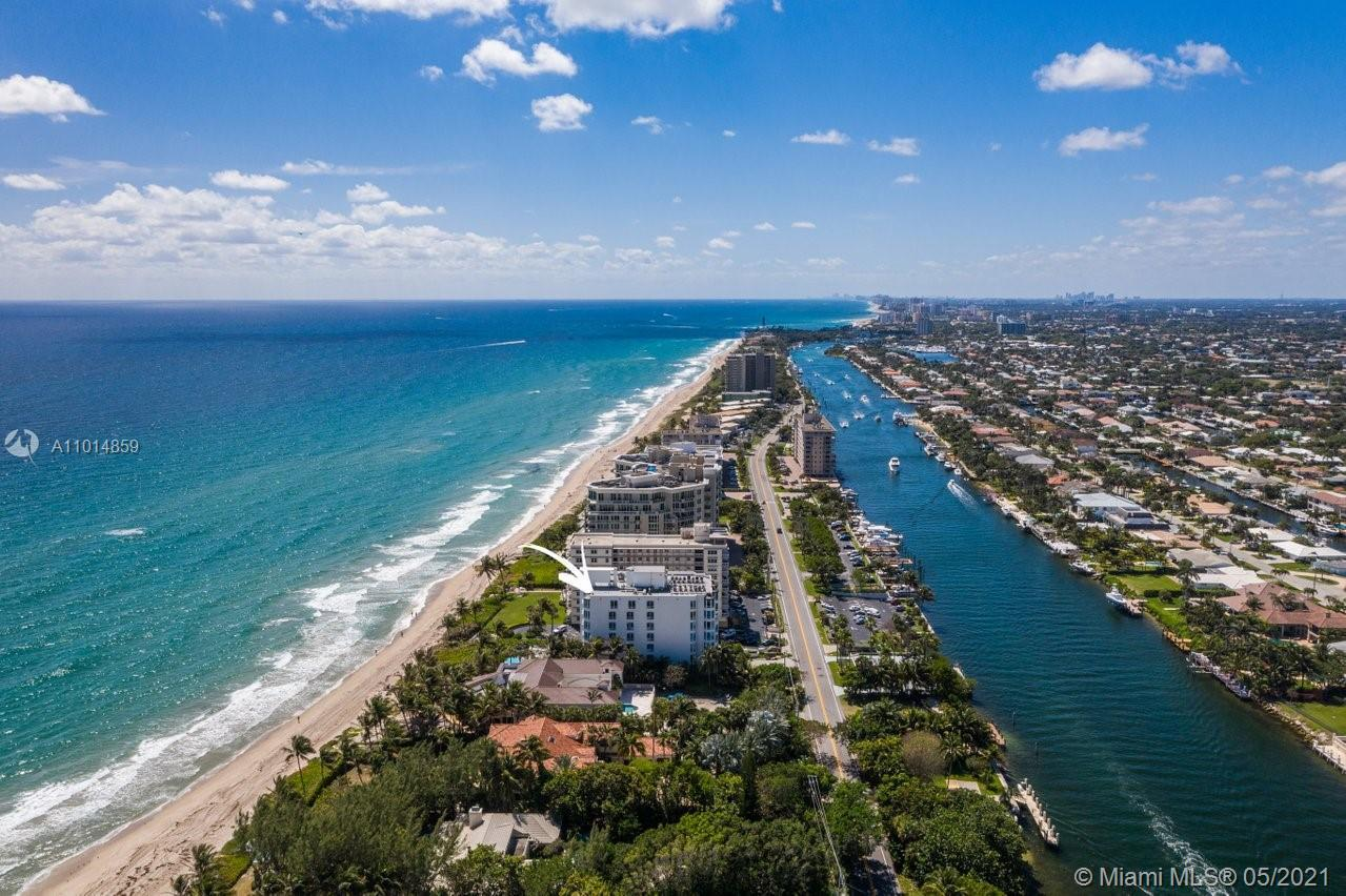 Perched atop the Atlantic Ocean and Florida's renowned Intracacoastal waterways sits this one-of-a-k