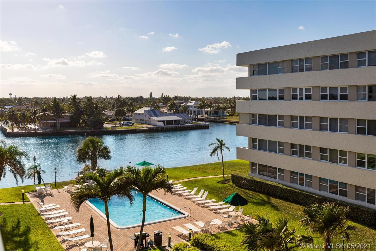 Great opportunity to acquire a waterfront condo located in Hillsboro Beach, steps away from the ocea