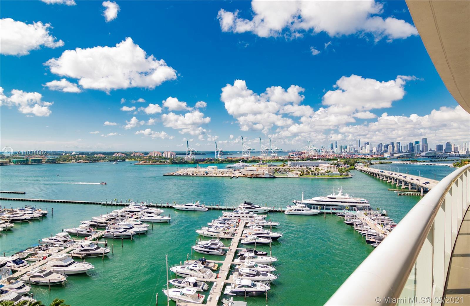 1603 at the Exclusive Icon South Beach. A true 3 bedroom all with private bathrooms, large closets &