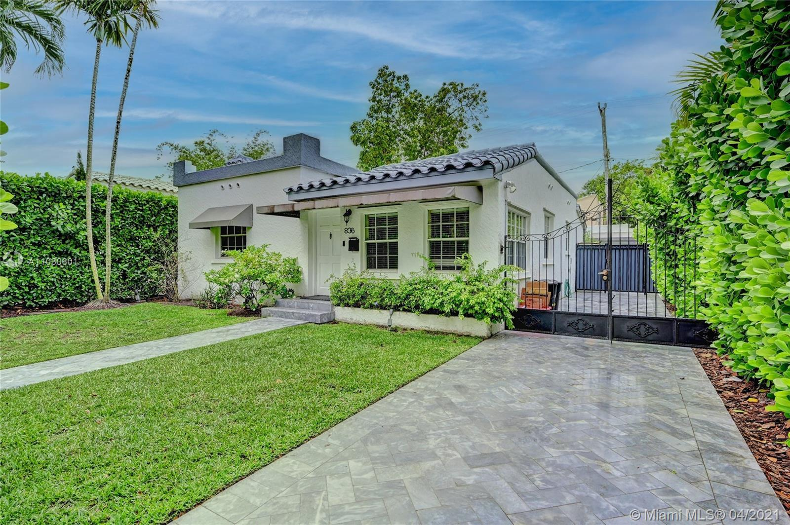 Spectacular residence! The main house has been remodeled to include two bedrooms and one bath, as we