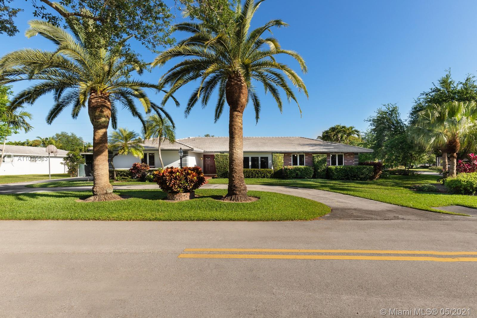 This beautiful 4bed + 3bath + maids/office space, loving home is in a corner lot, in one of the most