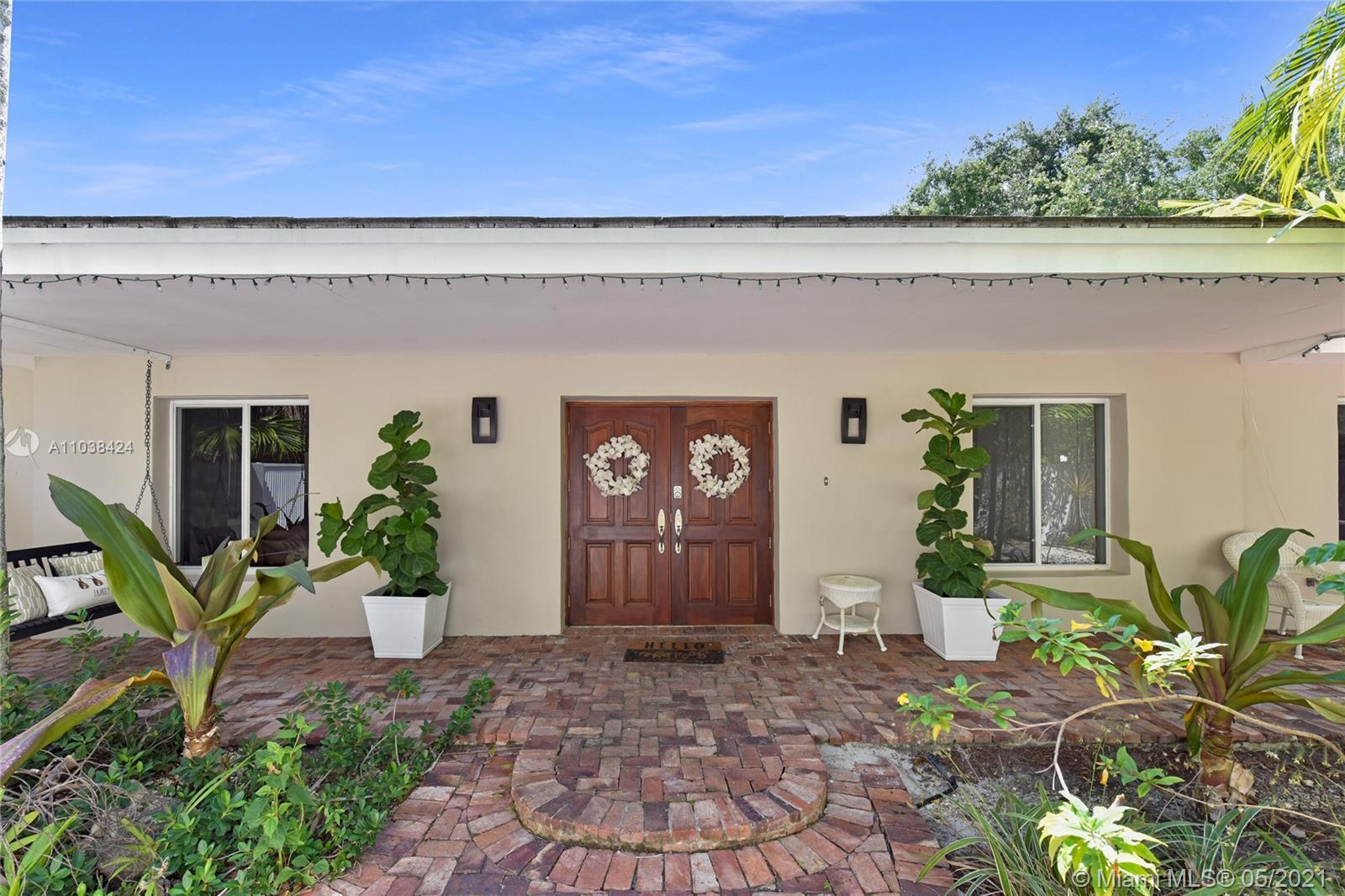 This beautifully updated Pinecrest home won't last long! It features 4 spacious bedrooms and 3 full