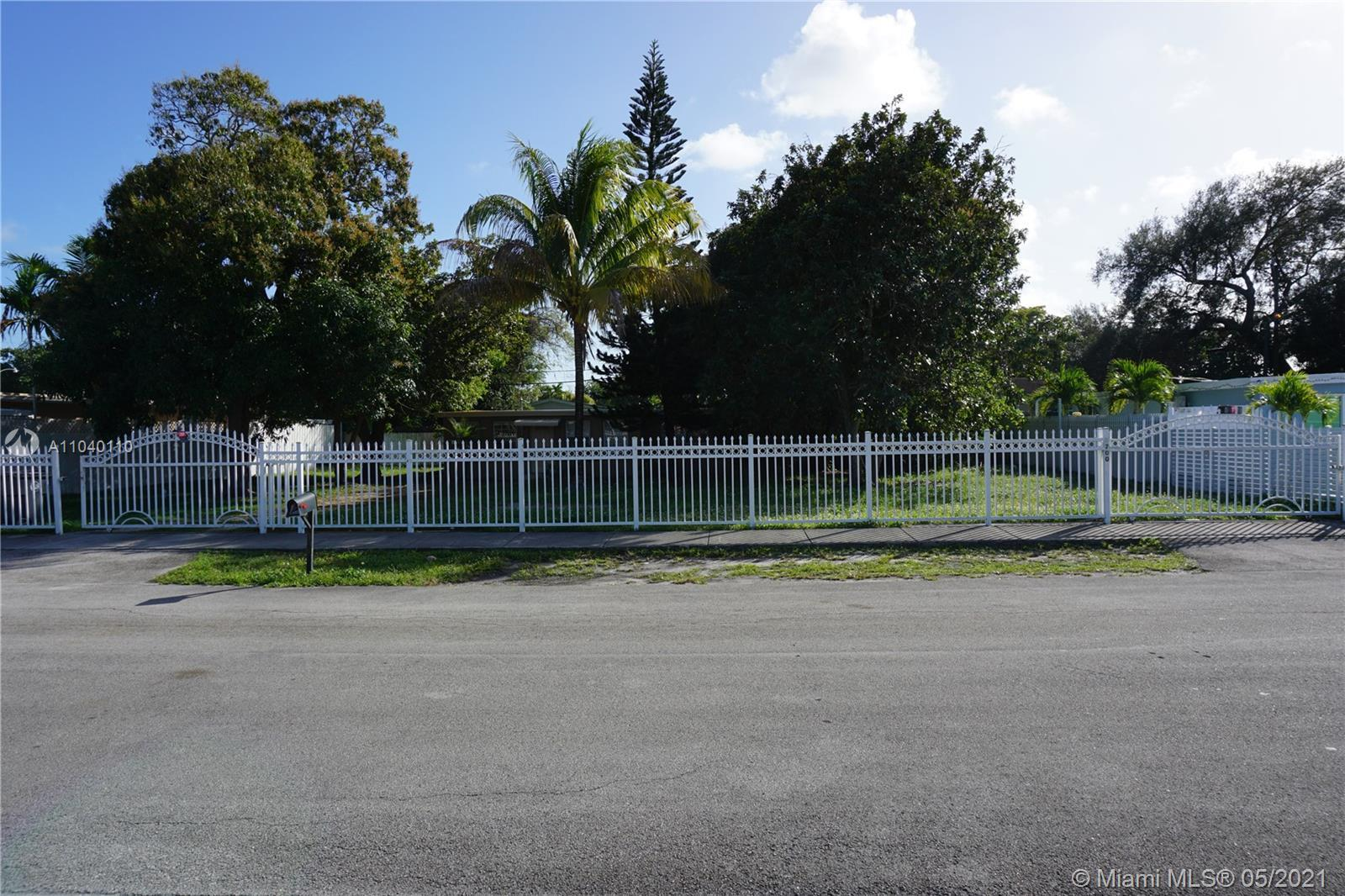 PRICE REDUCTION ! Double Lot with Two Different Folio Numbers totaling over 10,000 Sq. Ft of land !