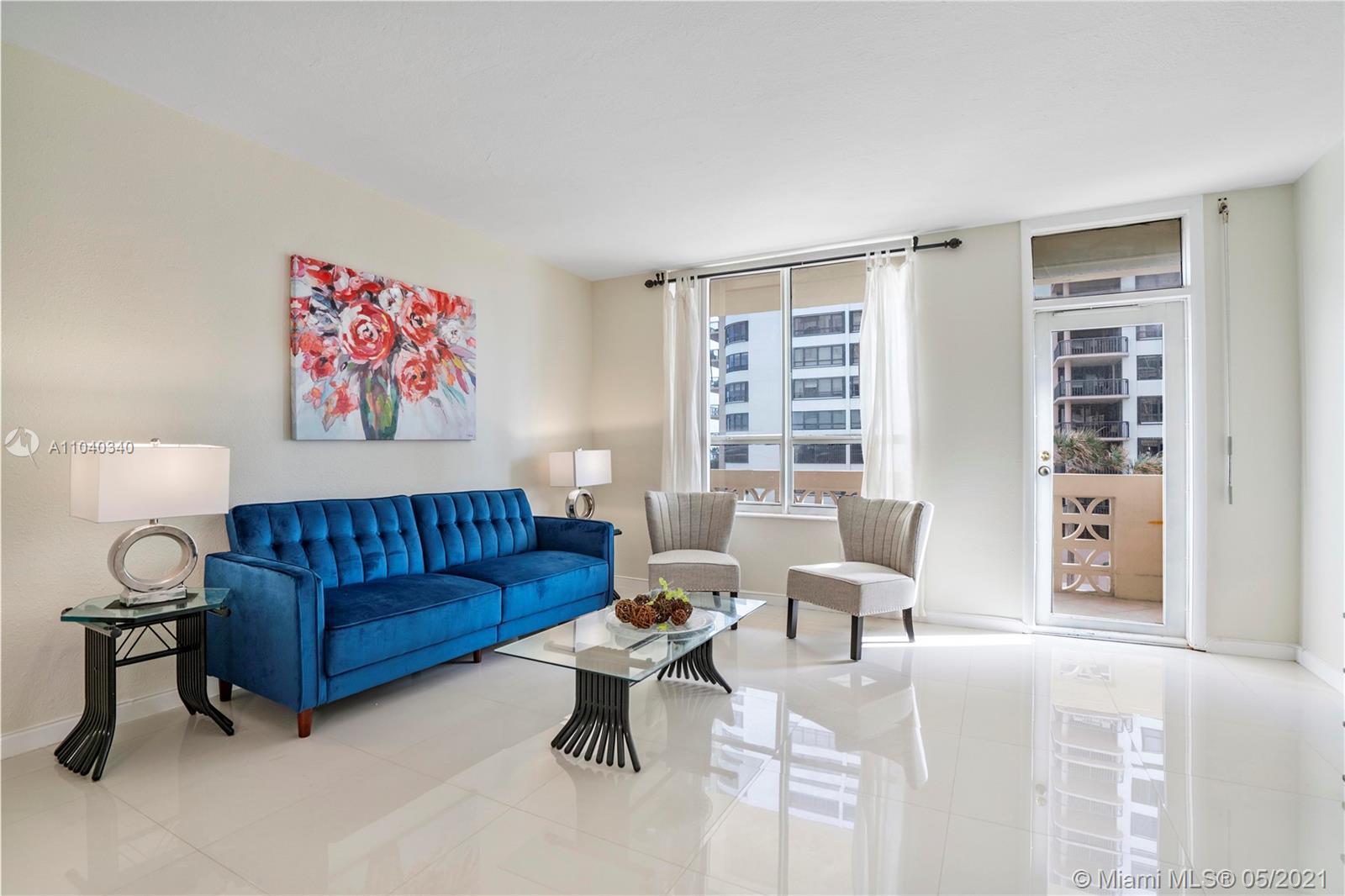 Bal Harbour best!!!!Oceanview 1 Bedroom 1 Bath remodeled, rented for $1,800 .00 per month until Octo