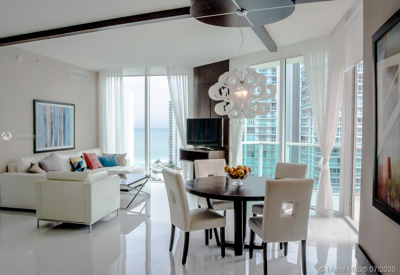 Magnificent St.Tropez unit in Sunny Isles Beach with spacious open floor plan and breathtaking ocean
