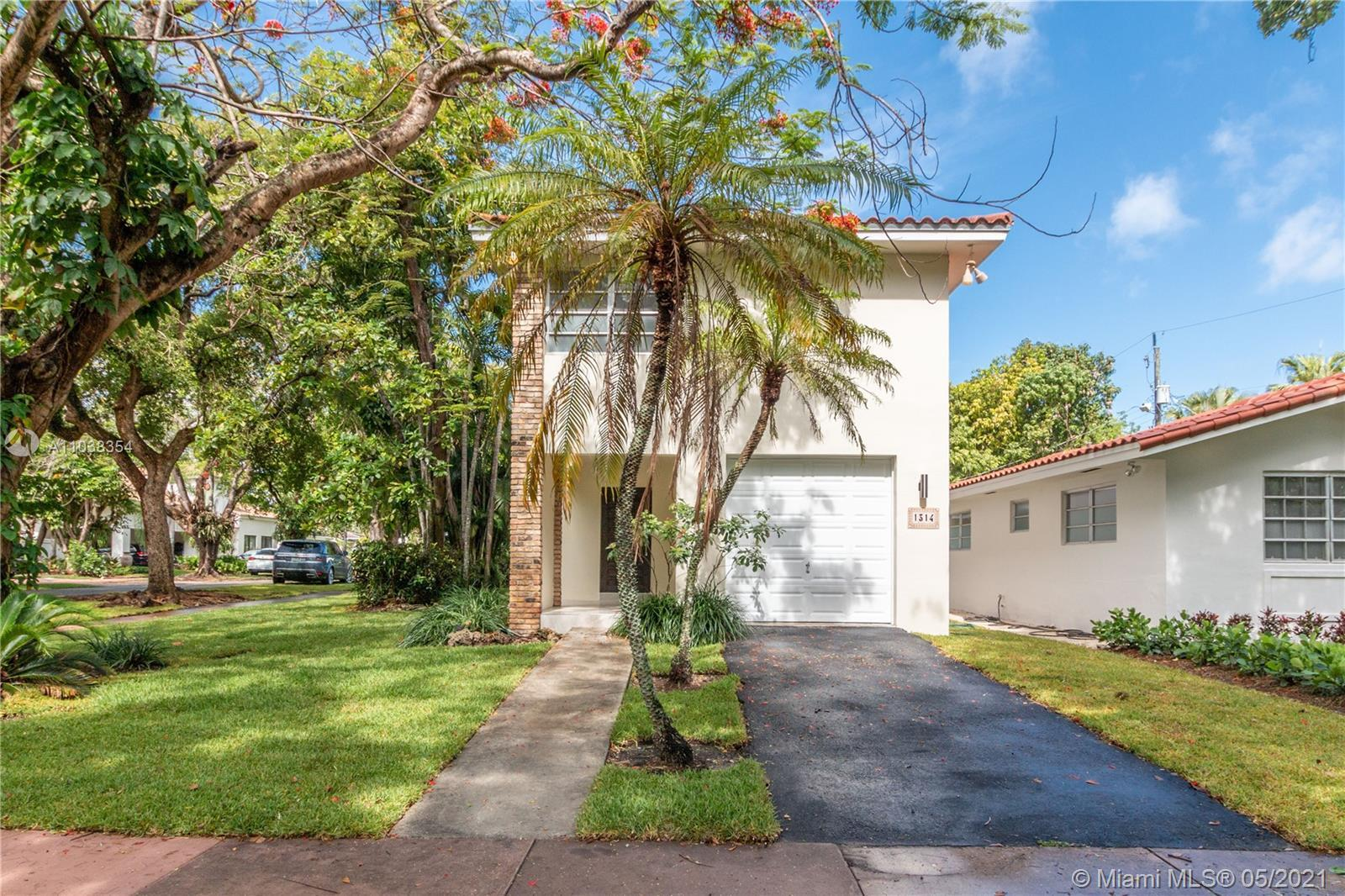 Beautifully renovated 2-story home on a tree lined street minutes away from Granada Golf Course and