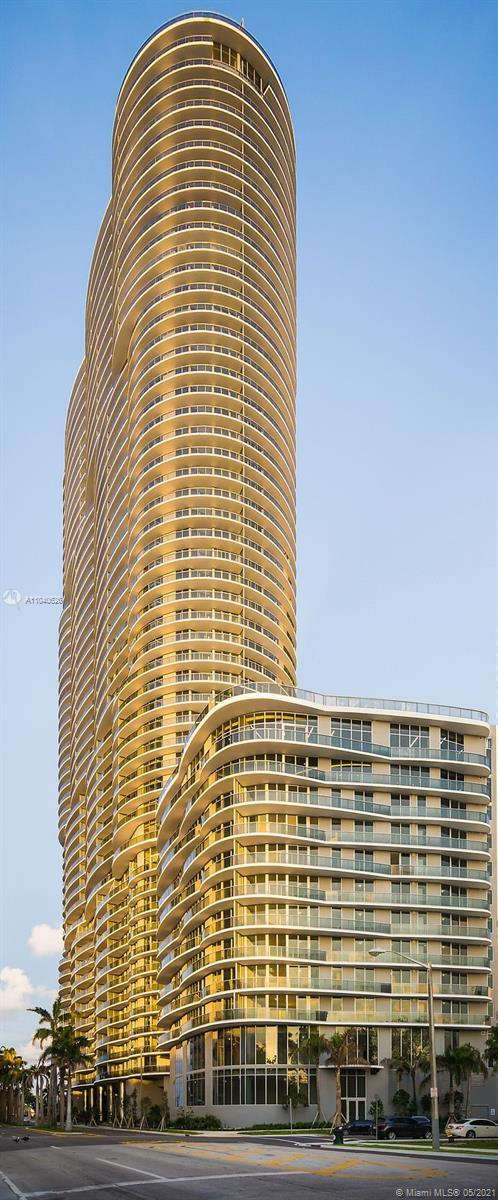 Like new and unique Condo in Aria on the Bay the gorgeous Building! 2 Bed/ 2.5 baths. Located at the
