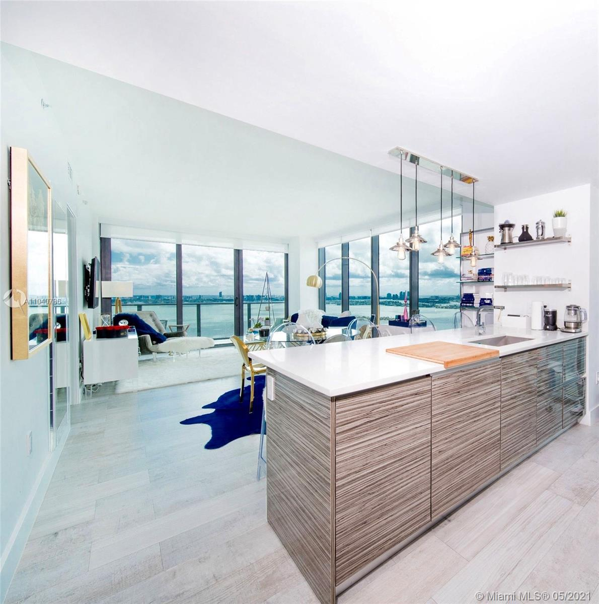 Gorgeous 3 bedroom, 2.5 bath upgraded unit at Icon Bay. Direct Bay views and furnished beautifully.