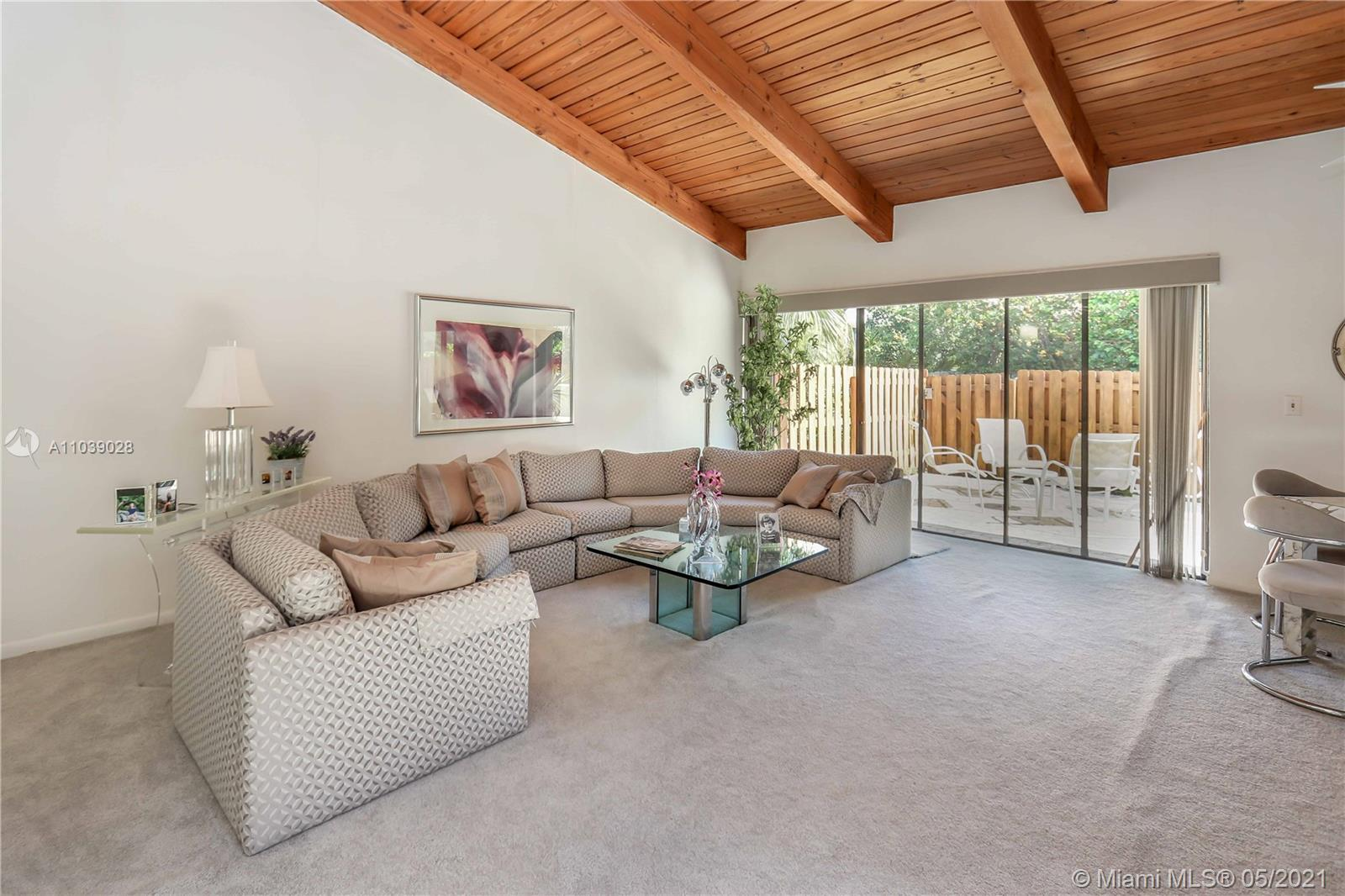 Exquisite 2 BD / 2 BA / One Story Completely Furnished Villa ~ End Unit with 3 Skylights in Sought A