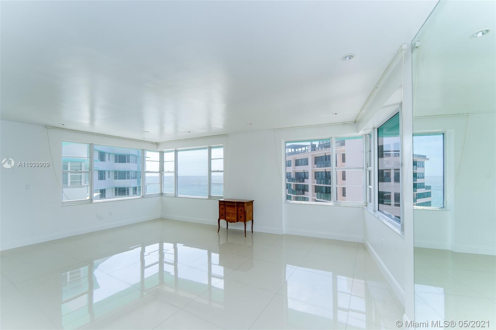Located in the heart of Millionaire's Row, this 2bd +office/den and 2ba unit has 1,560 SF. Master Be