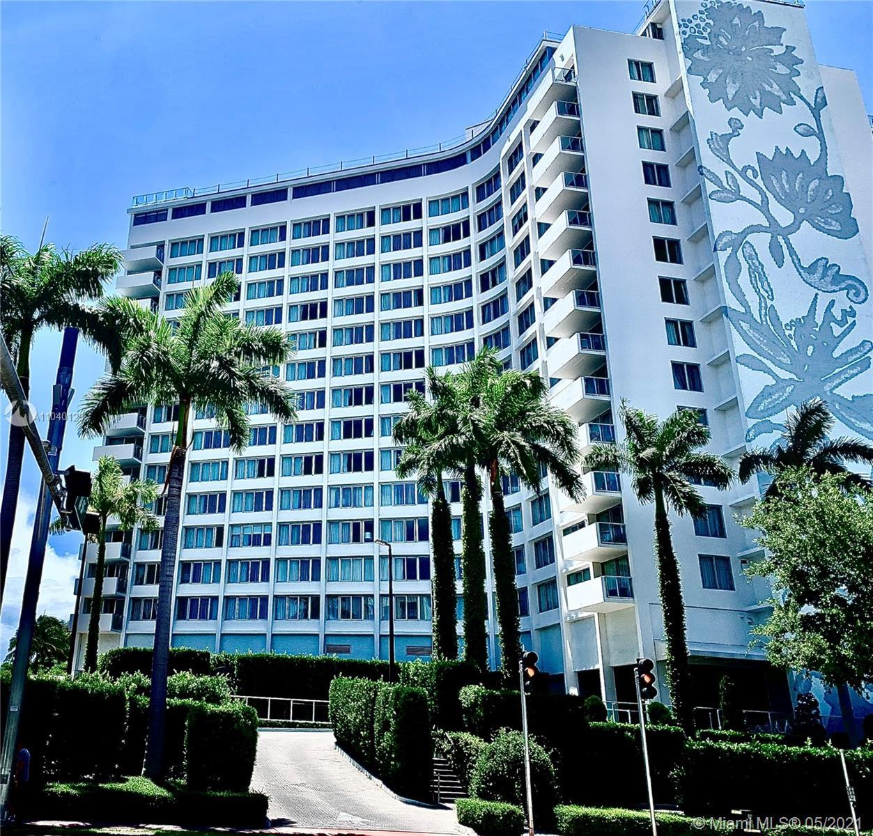 TURN KEY FURNISHED CONDO AT THE BEAUTIFUL MONDIRIAN CONDO/HOTEL .