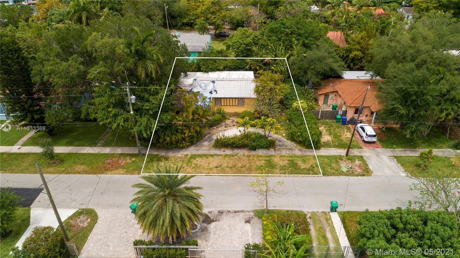 Rare opportunity to build a new construction single family home in prestigious North Coconut Grove m