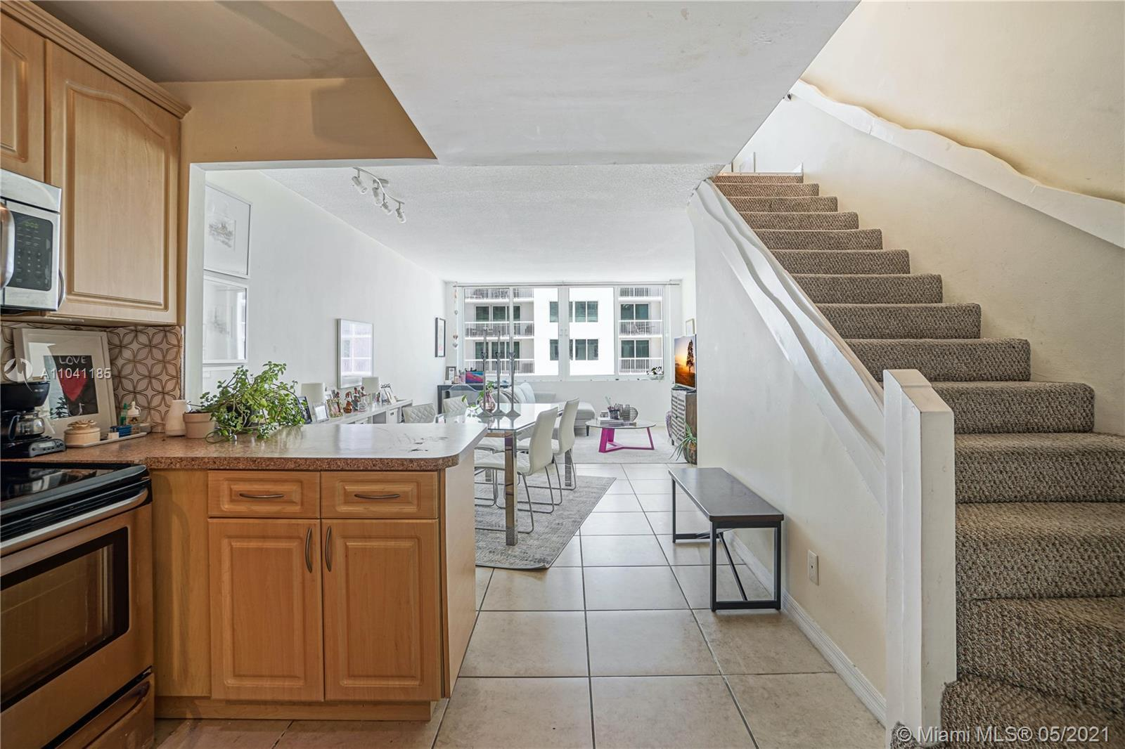 Two Story Oceanfront Townhouse in Miami Beach Millionaires row. Townhome features- one bedroom plus