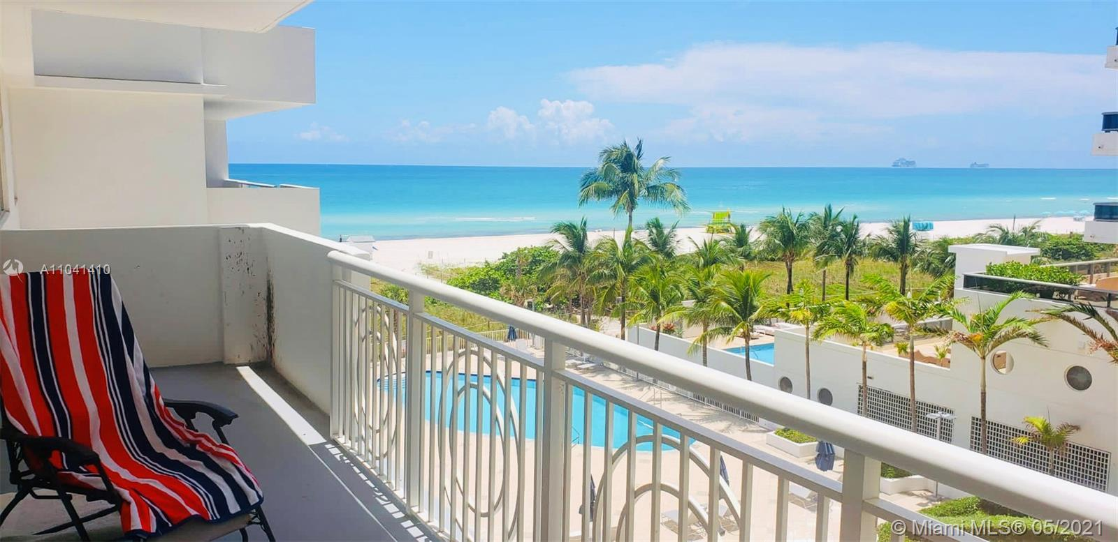 OCEAN VIEW. If you want to live in the heart of Miami Beach then this is the place to be. Beautiful