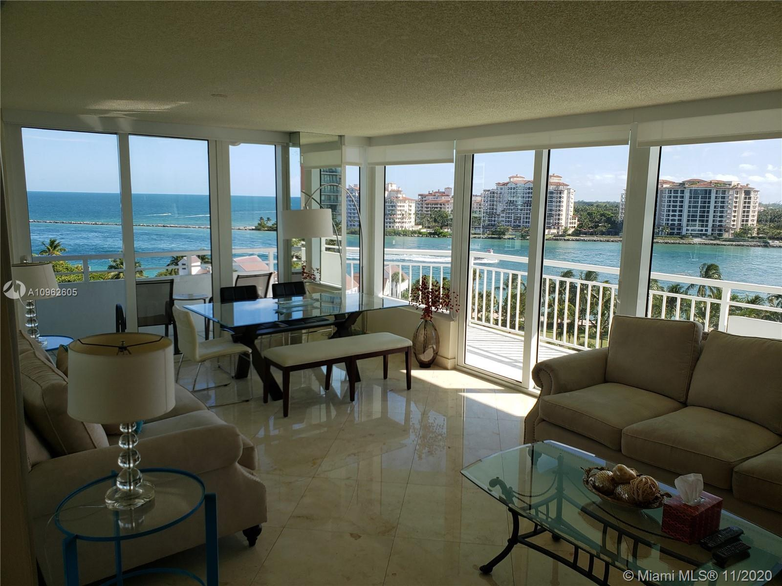 Best Location in South Beach and Best Location in Building S.W. Corner. Magnificent Views of City, O