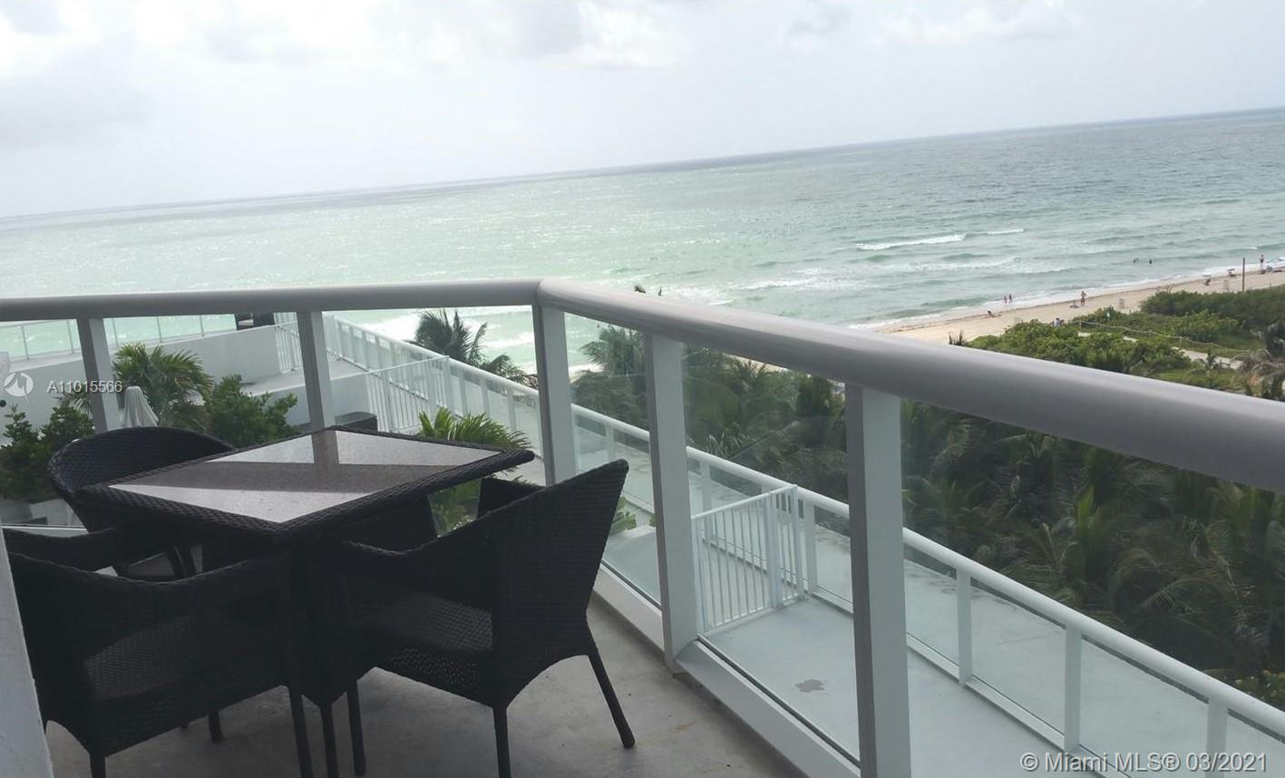 BEL AIRE ON THE OCEAN! 1/1.5 UNIT WITH SPECTACULAR VIEWS, FLOOR TO CEILING WINDOWS, AND BEACHFRONT A