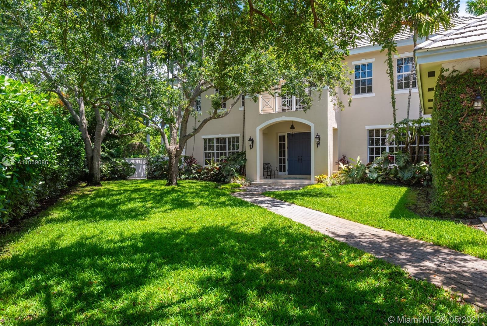Gorgeously updated 5BR/4.5BA Pinecrest home on .5 acre in the Red Oaks gated community. Each room &