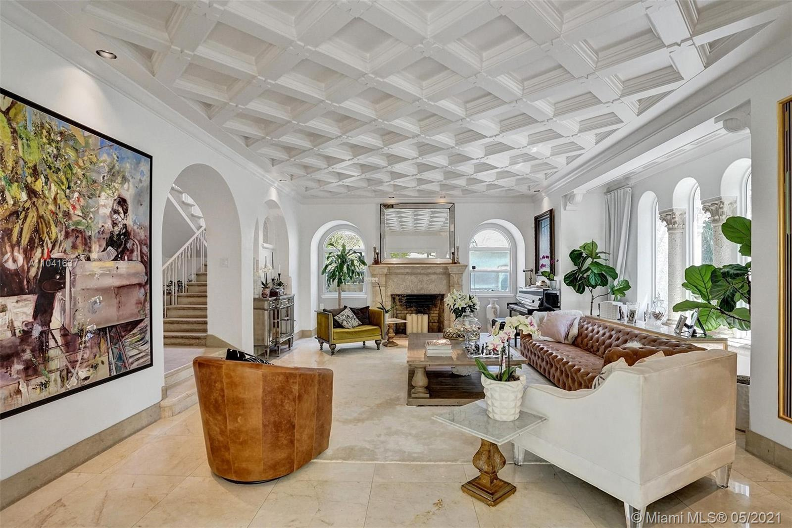 The best of what Miami has to offer in this fully renovated Mediterranean masterpiece on Miami Beach