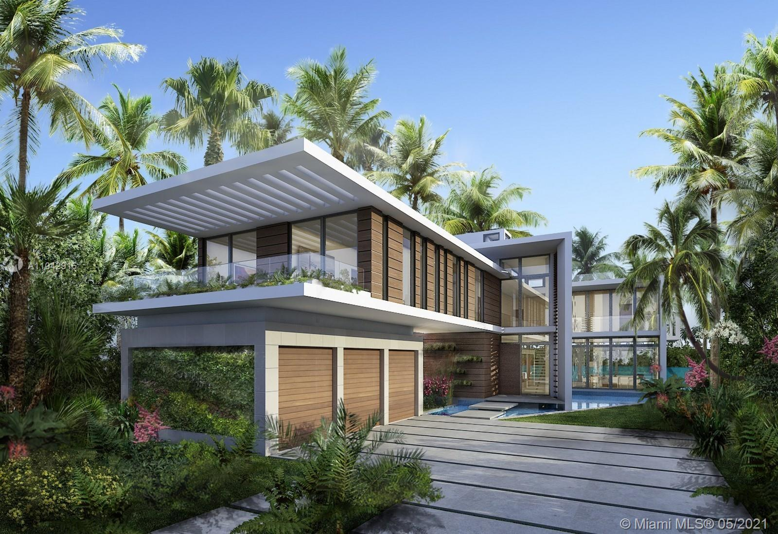 Brand new tropical modern masterpiece designed by Reinaldo Borges Architecture currently under const