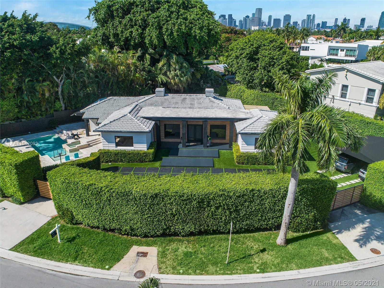 Rare Opportunity on oversized lot in Hibiscus Island! Fully renovated 4 bed/3.5 bath contemporary ho